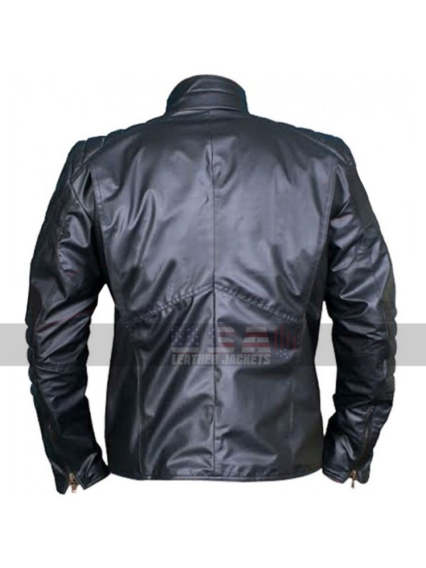 Superman v Batman Dawn of Justice Reversible Leather Jacket
