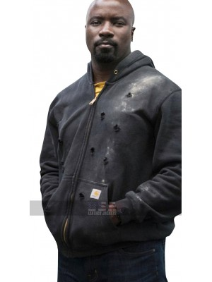 Luke Cage The Defenders Mike Colter Cotton Bomber Jacket