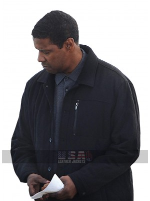 The Equalizer 2 Denzel Washington (Robert McCall) Wool Jacket