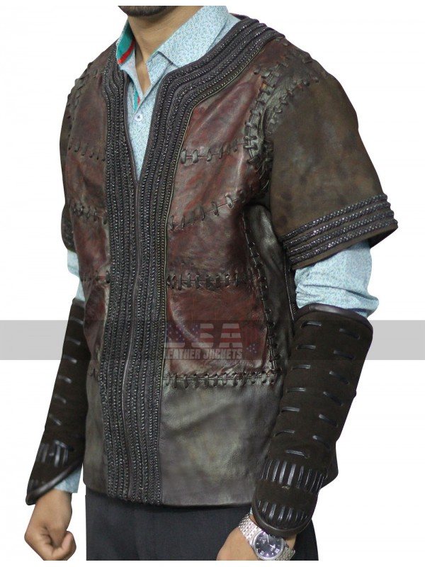Warcraft The Beginning Anduin Lothar (Travis Fimmel) Leather Jacket