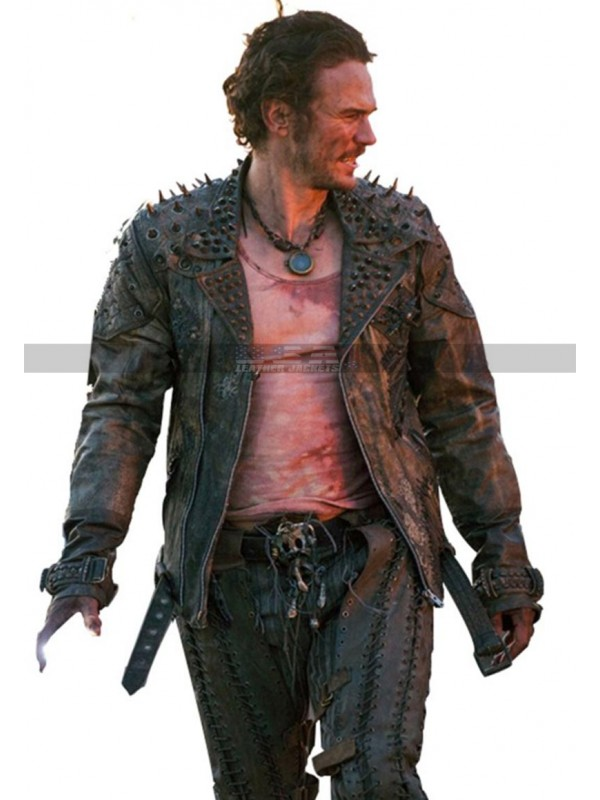 Future World James Franco Warlord Leather Jacket