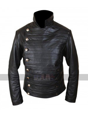 Westworld Rodrigo Santoro (Hector Escaton) Black Leather Jacket