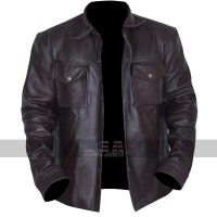 Addicted William Levy (Quinton Canosa) Brown Leather Jacket