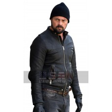 Bent Movie Danny Gallagher Karl Urban Black Leather Jacket