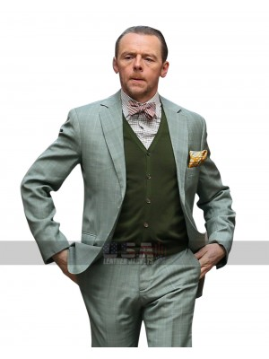 Mission Impossible 6 Fallout Simon Pegg (Benji Dunn) Tuxedo Suit