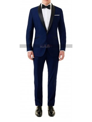 Skyfall Tuxedo James Bond Midnight Blue Suit