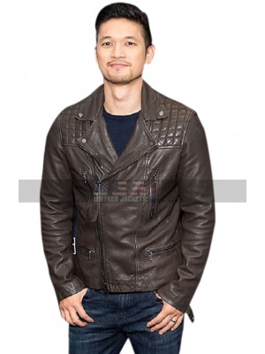 Shadowhunters Alberto Rosende Brown Biker Leather Jacket