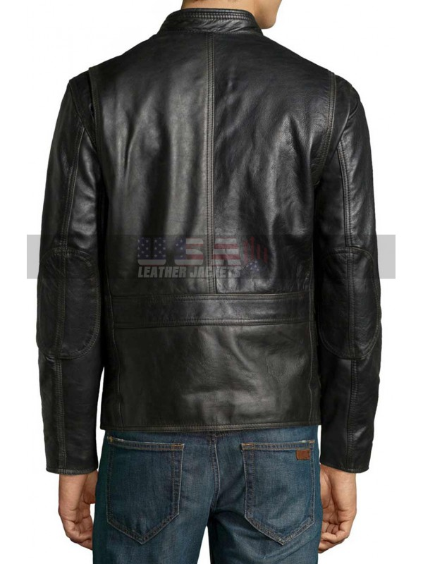 Altered Carbon Takeshi Kovacs Biker Black Leather Jacket