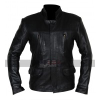 Dark Matter TV Series Marcus Boone Black Leather Jacket