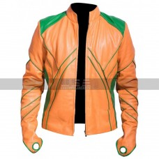 Aquaman Smallville Arthur Curry Costume Leather Jacket