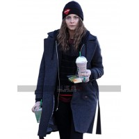Tv Show Arrow Costume Thea Queen Blue Wool Coat