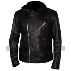 24 Legacy Ashley Thomas (Isaac Carter) Fur Collar Leather Jacket