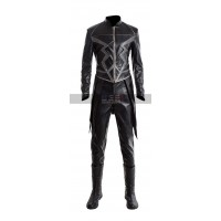 Inhumans Anson Mount (Black Bolt) Black Leather Costume