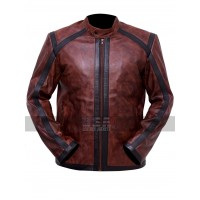 Lucifer Kevin Alejandro (Dan Espinoza) Brown Leather Jacket