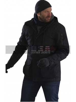 The Strain Dr Ephraim Goodweather Black Cotton Hoodie Jacket