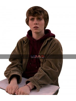 I Am Not Okay With This Sophia Lillis Corduroy Jacket