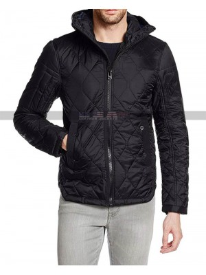 Ozark Marty Byrde Black Quilted Jacket