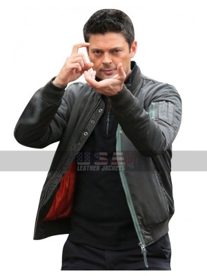 Karl Urban Almost Human John Kennex Bomber Jacket