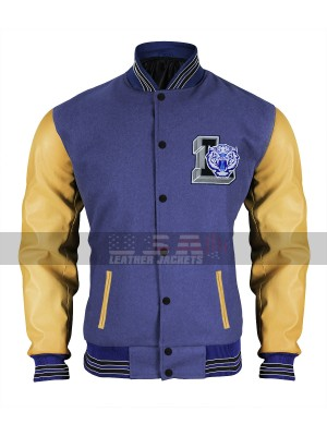 13 Reasons Why Jeff Atkins Varsity Bomber Jacket