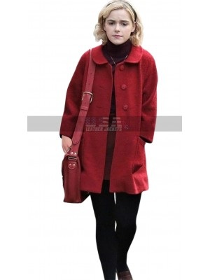 Kiernan Shipka Chilling Adventures of Sabrina Red Wool Coat