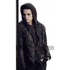 Counterpart Baldwin (Sara Serraiocco) Black Leather Jacket