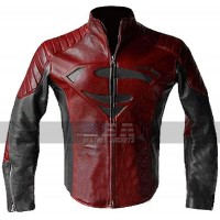 Smallville Tom Welling Clark Kent Superman Costume Leather Jacket