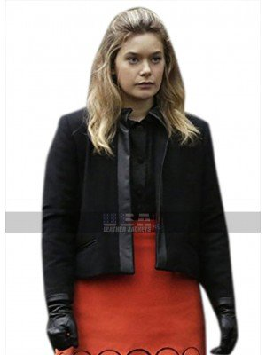 Legion Rachel Keller (Syd Barrett) Slim Fit Black Jacket