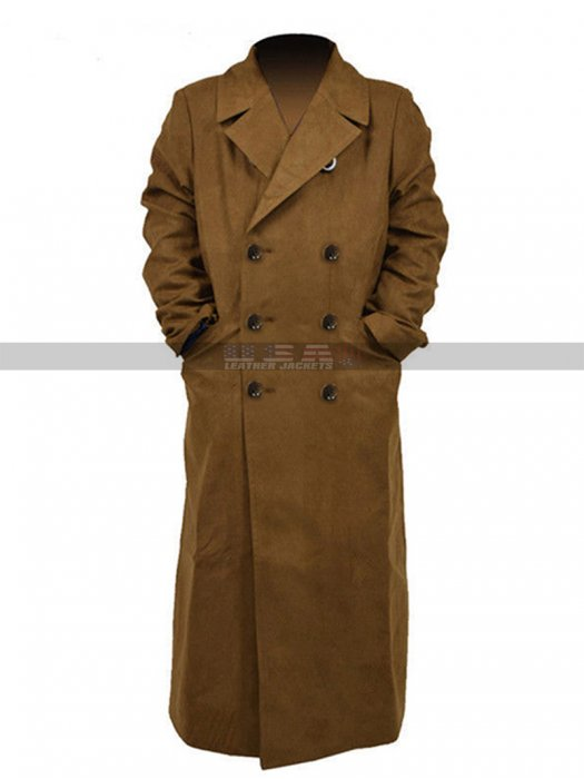 Tenth 10Th Doctor Who Costume David Tennant Trench Coat
