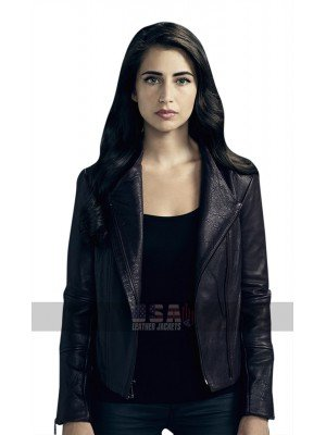 Beyond TV Series Willa (Dilan Gwyn) Lapel Collar Black Leather Jacket