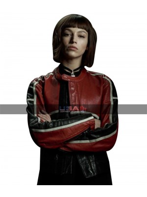 TV Show Money Heist Tokio Biker Leather Jacket