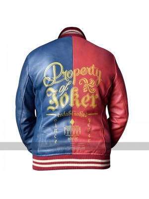 Harley Quinn Suicide Squad Bomber Leather Jacket For Women