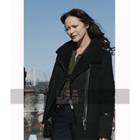 Blue Bloods Milestones Maria Baez Black Trench Coat