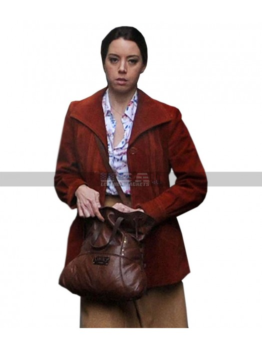 Child's Play Aubrey Plaza Karen Barclay Blazer Leather Jacket