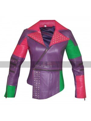 Disney Descendants Mal (Dove Cameron) Costume Leather Jacket