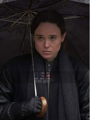 The Umbrella Academy Vanya Hargreeves Black Jacket