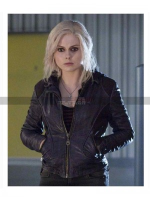 Izombie Olivia Moore Black Leather Jacket