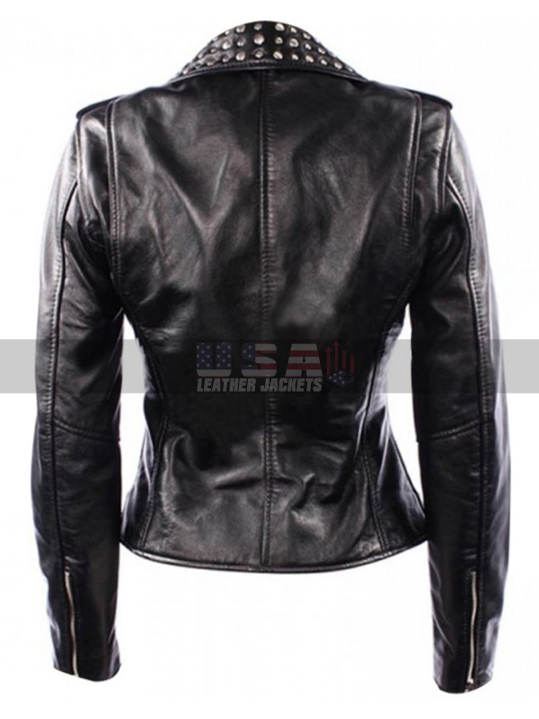 Domino Harvey Keira Knightley Domino Biker Leather Jacket