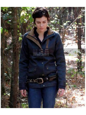 The Walking Dead Maggie Greene Denim Jacket