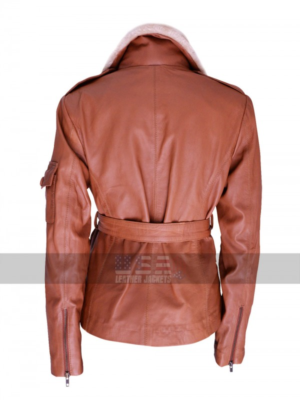 Night at the Museum 2 Amy Adams (Amelia Earhart) Aviator Leather Jacket