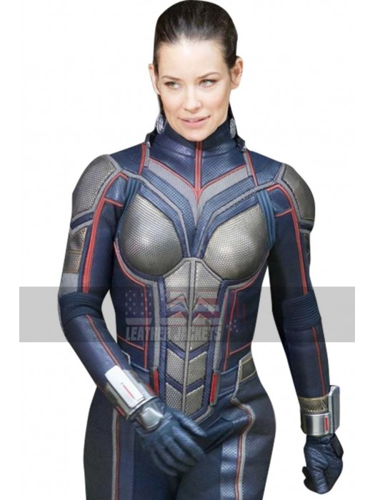 Ant-Man And The Wasp Evangeline Lilly (Hope Van Dyne) Leather Jacket