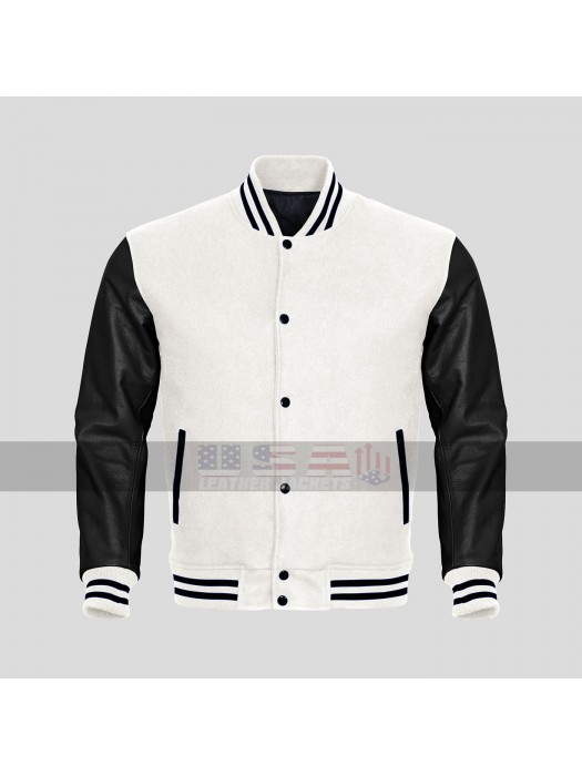 Baseball Varsity Multi-color Wool Varsity Letterman Bomber Jacket