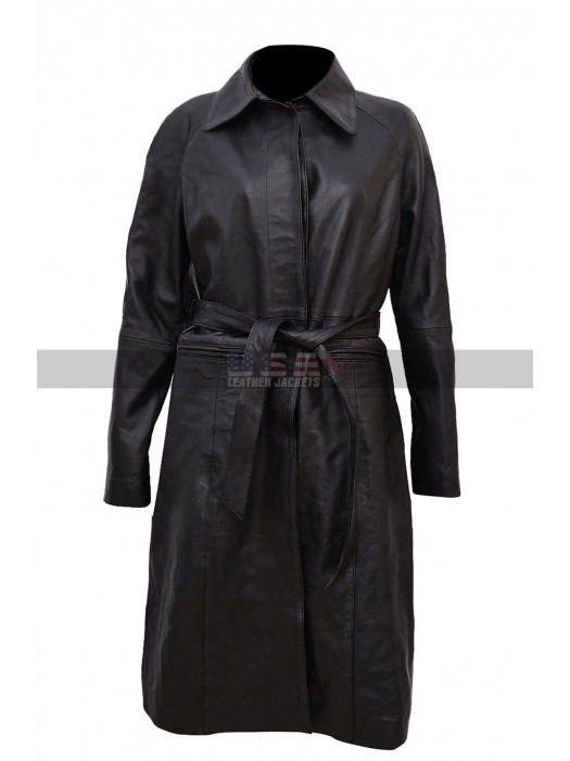 Fantastic Beasts The Crimes Of Grindelwald Katherine Waterston Black Trench Coat