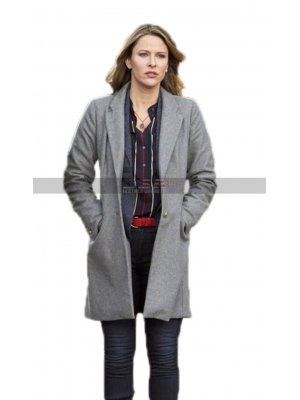 Mystery 101 Jill Wagner Playing Dead Amy Winslow Grey Trench Coat